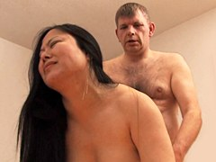 Asian girl loves hard sex