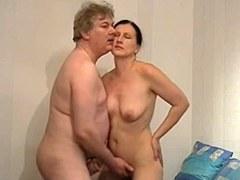 Pareja mayor alemán y su video porno casero