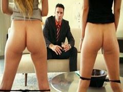 XXX Estrellas Porno – Jefe rico obtiene trío con dos rubias Karla Kush y Lyra Law