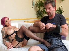 XXX Privado – Anna Bell Peeks disfruta con este hombre