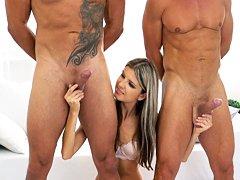 Sexo y rimming con Gina Gerson trio anal